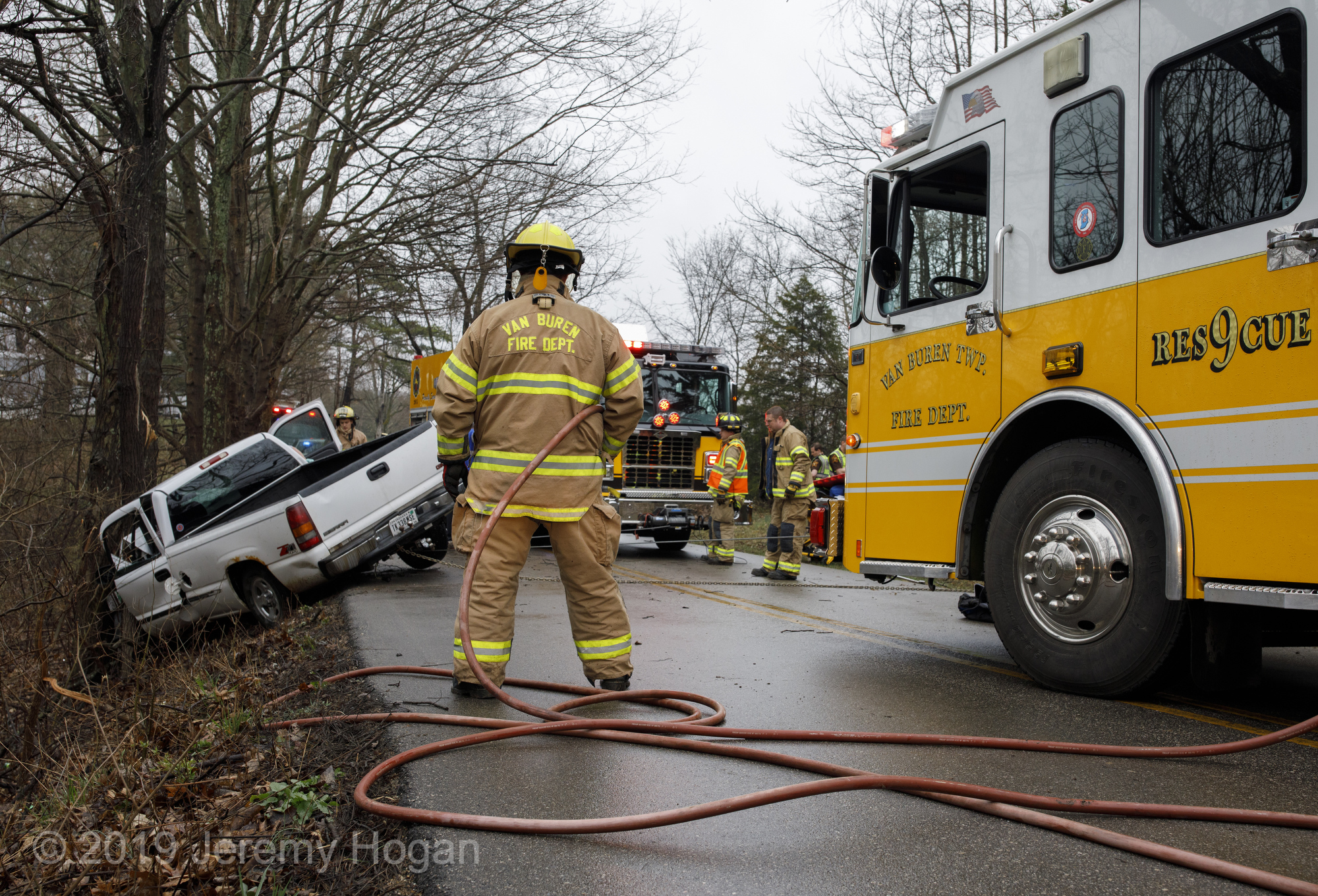 Accident on Garrison Chapel with entrapment – The Bloomingtonian